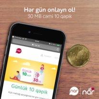 Nar Dan 10 Qəpiyə Gunluk Internet Paketi Təklifi Azia Az