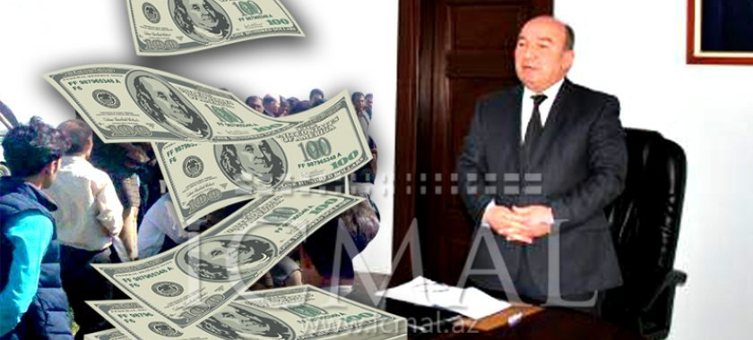 Beyləqanın İcra başçısı Asif Ağayevin bir kadrı da işdən çıxarıldı